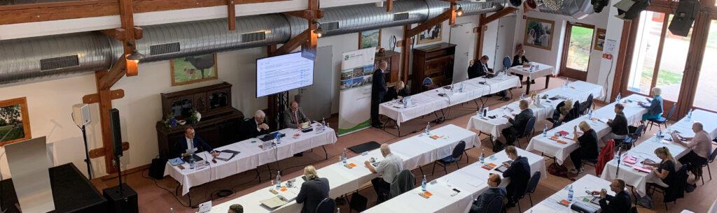 Kreistagssitzung im September 2020 in Golchen
